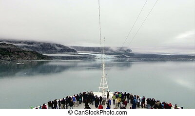 USA - Alaska - Margerie Glacier - Glacier Bay National Park and Preserve - Travel Destination. Alaska Glacier National Park