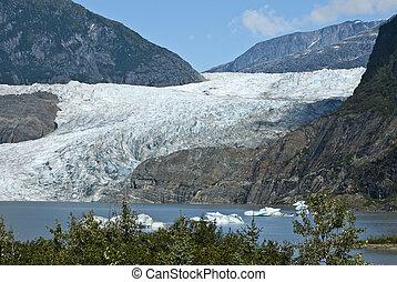USA Alaska - Mendenhall Glacier - USA Alaska, Tongass...