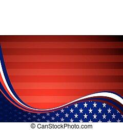USA american background