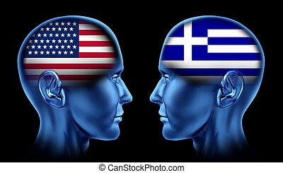 U.S.A and Greece trade