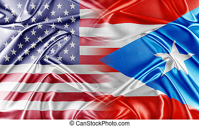 USA and Puerto Rico. Relations between two countries....