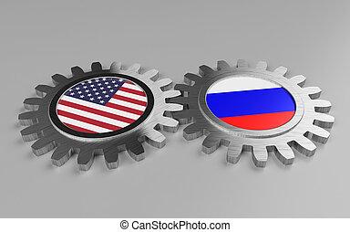 USA and Russia