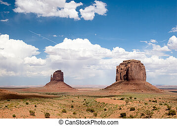 Monument Valley - USA. Arizona. Monument Valley Navajo ...