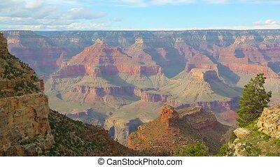 USA,  Arizona,  national,  Park, schlucht, Großartig