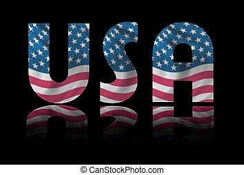 USA background stars & stripes