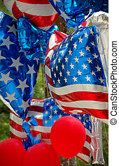 usa, balony