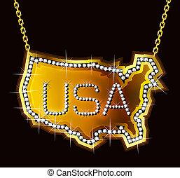 USA Bling Bling
