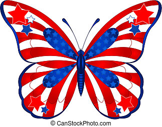 USA butterfly