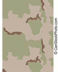USA camouflage - USA Army Desert Camouflage Pattern - Vector