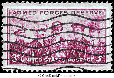 USA - CIRCA 1955 Armed Forces Reserve