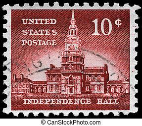 USA - CIRCA 1956 Independence Hall