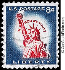 USA - CIRCA 1958 Liberty