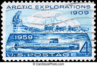 USA - CIRCA 1959 Arctic Explorations