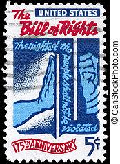 USA - CIRCA 1966 Bill of Rights