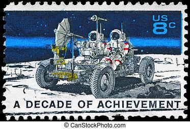 USA - CIRCA 1971 Lunar Rover