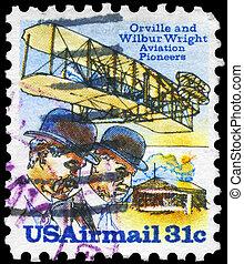 USA - CIRCA 1978 Wright Brothers