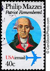 USA - CIRCA 1980 Mazzei