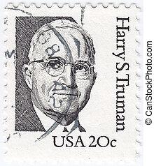 USA - circa 1984 : stamp printed in USA shows image of...