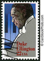 USA - CIRCA 1986: A stamp printed in United States of...