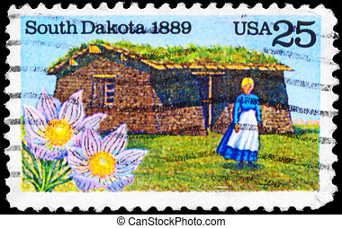 USA - CIRCA 1989 South Dakota