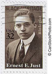 USA - CIRCA 1996 : stamp printed in USA show American ...