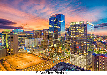 usa, cityscape, feniks, arizona