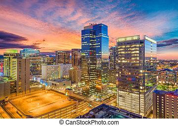 usa, cityscape, phoenix, arizona