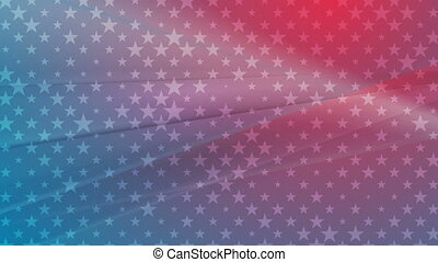 USA colors abstract bright video animation