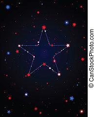 USA constellation