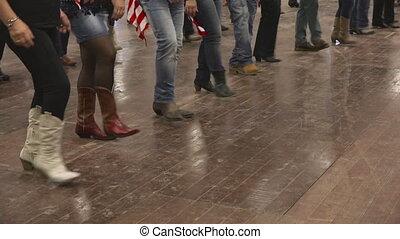 usa, danse, danse, pays, festival, drapeau, danseur, occidental, ligne