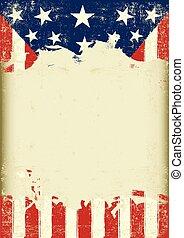 USA dirty flag