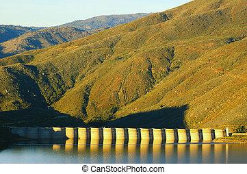 usa), dum, (southern, sutherland, californie, vue