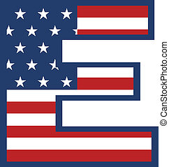 USA E letter