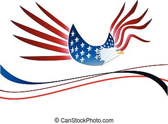 Usa eagle logo