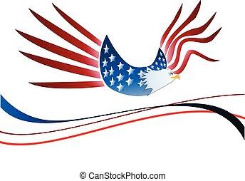 Usa eagle logo