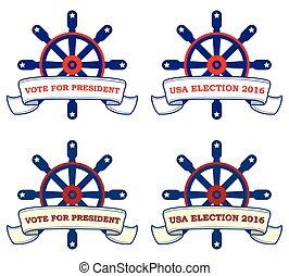 USA election 2016 - template