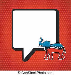 usa, elections:, köztársasági érzelmű, politic, üzenet