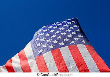 USA flag background