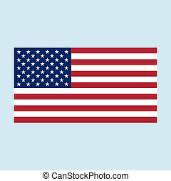 usa flag color