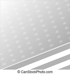 USA flag grey pale abstract background banner
