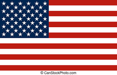 USA flag - The national flag of the United States of America...