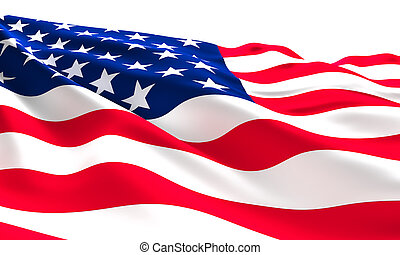 usa flag - old glory flag american background