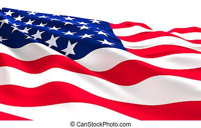 usa flag - old glory flag american background