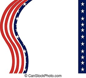 USA Flag template