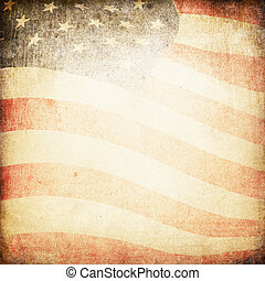 USA flag theme background and texture