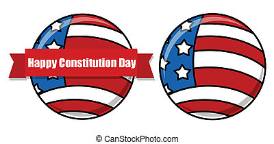 USA Flag Theme - Constitution Day