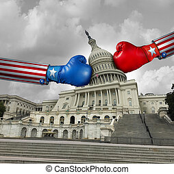 USA Government Fight