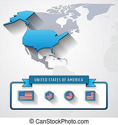 USA info card