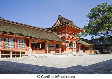 Usa jingu, japanese famous shrine