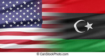 usa, líbia